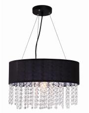 Lampa wisząca Madryt czarna LP-81458/1P BK Light Prestige