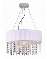 Lampa wisząca Madryt biała LP-81458/1P WH Light Prestige