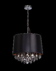 Lampa wisząca Vigo czarna LP-0412/1P BK Light Prestige
