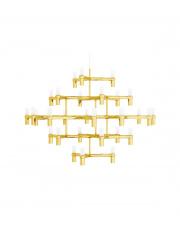 Lampa wisząca ATOMIC GRANDE złota King Home