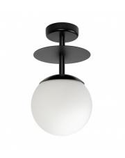 Lampa Przysufitowa / Plafon PLAAT B Czarna Ummo
