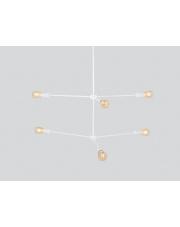 Lampa wisząca Triso 6 biała Customform