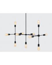 Lampa wisząca Triso 11 czarna Customform