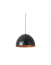 Lampa wisząca Leonard L czarno-miedziana Customform