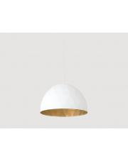 Lampa wisząca Leonard L biało-złota Customform