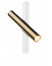 Reflektor Akadi 0139 złoty/biały Amplex