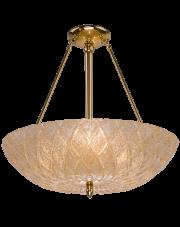 Lampa wisząca Diamante Ampla złota Amplex