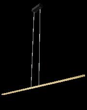 Lampa wisząca Ebora złota/czarna Amplex