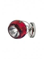 Kinkiet/plafon Beluga Colour czerwony D57G1303 Fabbian