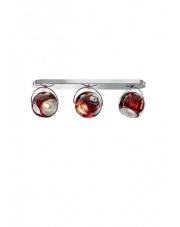 Kinkiet/plafon Beluga Colour 3 czerwony D57G2503 Fabbian