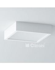 Plafon .Belona 50 kwadrat E27 h=10 cm Cleoni