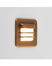 Wpust ścienny zewnętrzny Arran Square mosiądz 7877 Astro Lighting