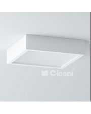 Plafon Belona 60 kwadrat E27 h=10cm Cleoni