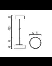 Lampa wisząca kompletna Myco One Z 160 Chors