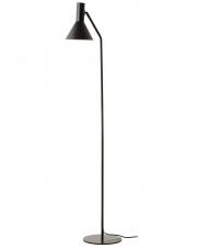 Lampa podłogowa Lyss czarna Frandsen