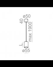 Lampa wisząca Pet 50 50588 Aqform