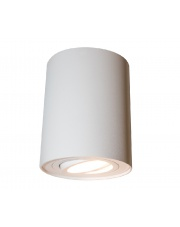 Plafon Ecotube GU10 biały Mistic Lighting