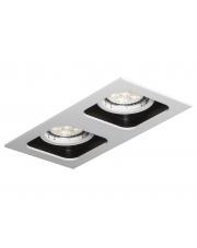 Wpust sufitowy Double Quad QR111 biało-czarny Mistic Lighting