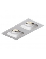 Wpust sufitowy Double Quad QR111 biały Mistic Lighting